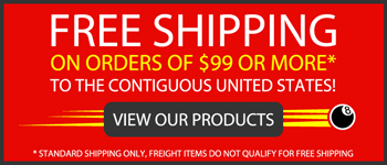 free shipping billiards products