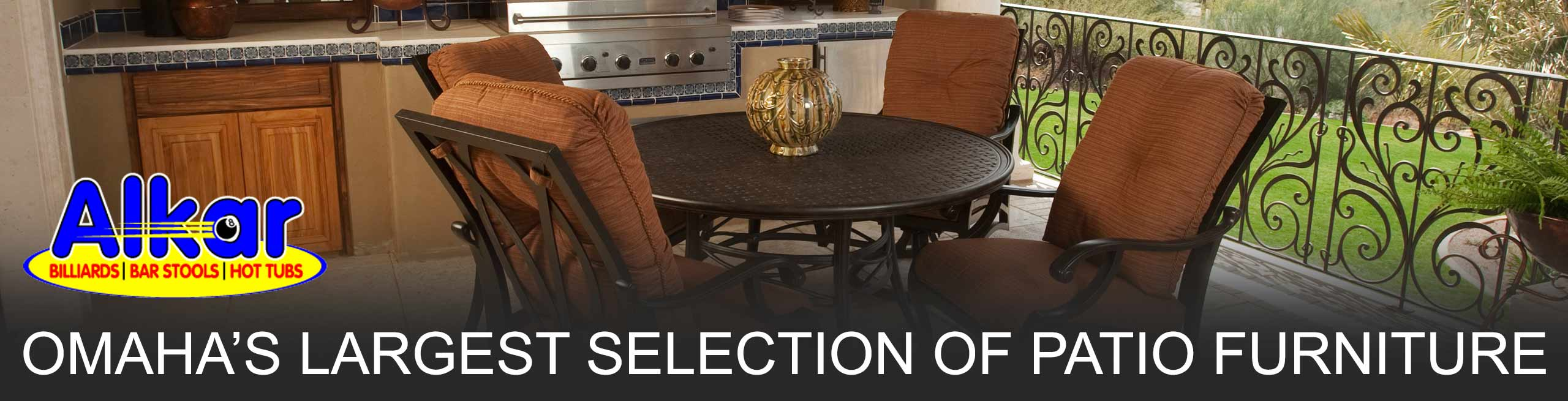 Omaha's Largest Selection of Patio Furniture At The Best Prices