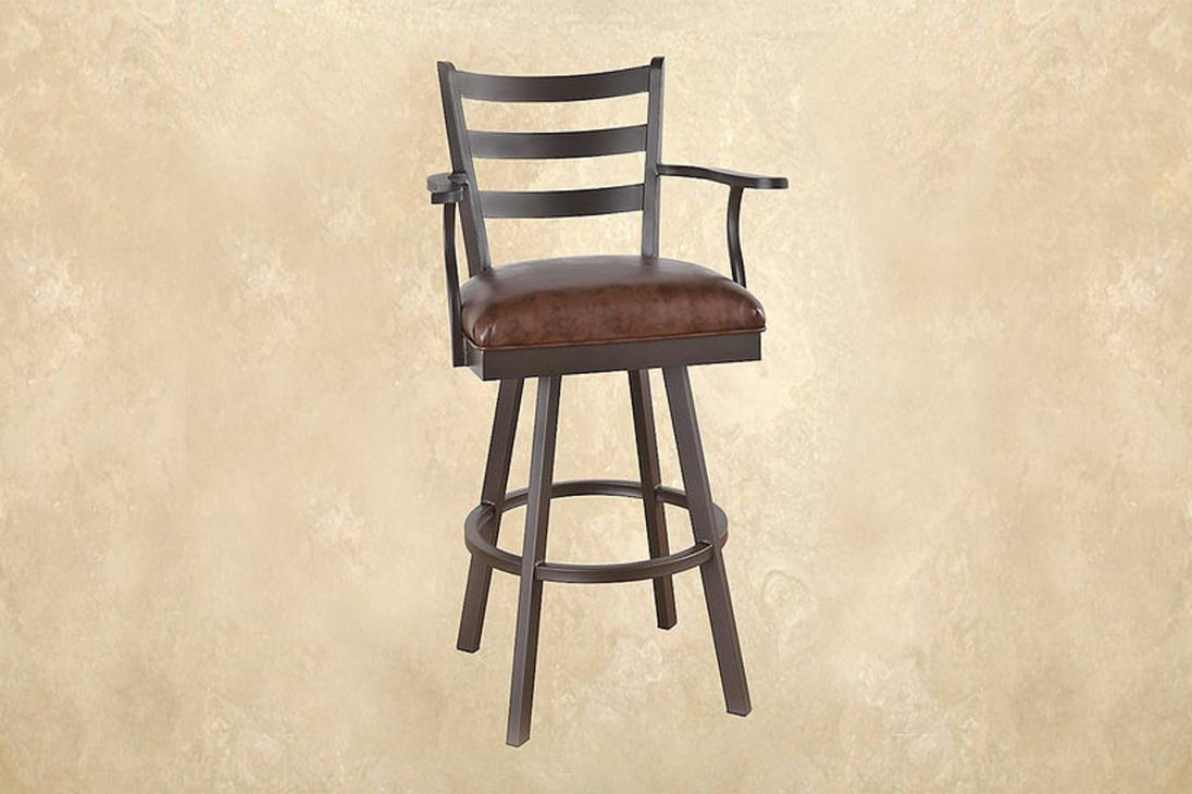 Callee Fairview Swivel Barstool Metal Alkar Billiards