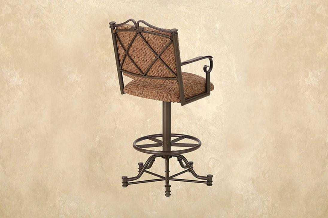 Callee Winland Swivel Barstool Metal Alkar Billiards