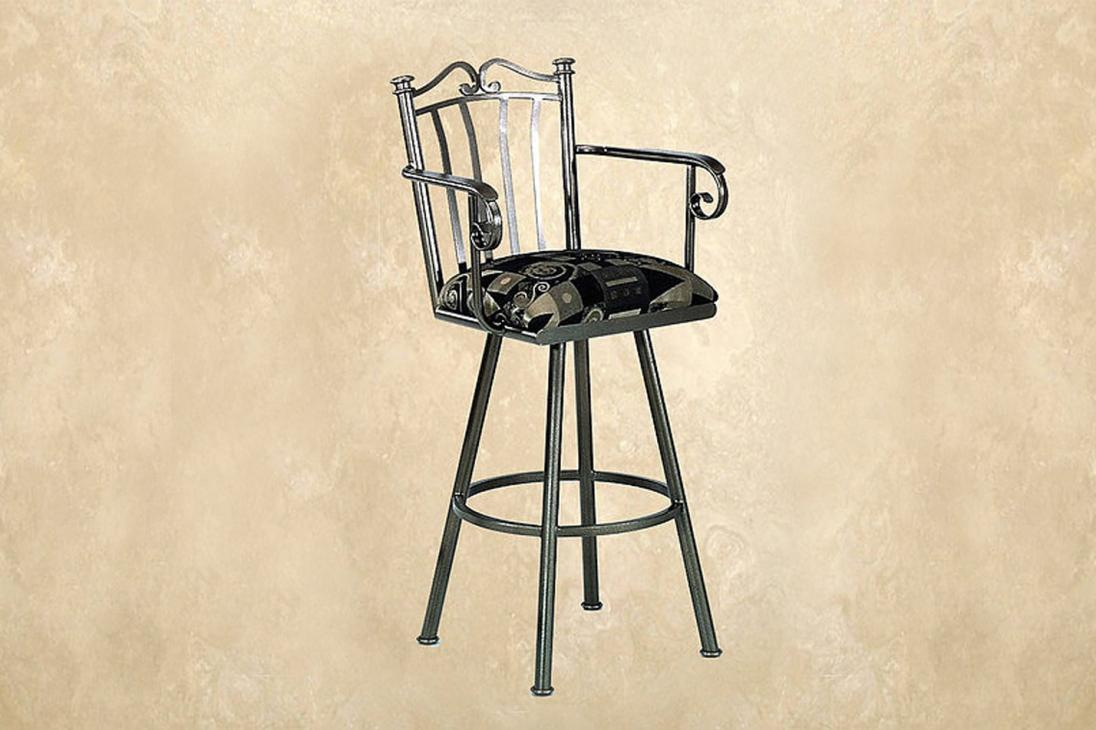 Callee Charleston Backless Swivel Barstool Alkar