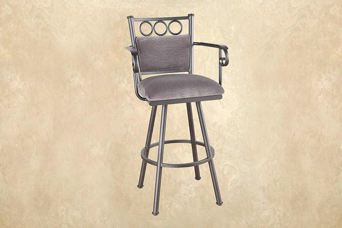 Callee Bristol Swivel Barstool Metal Alkar Billiards