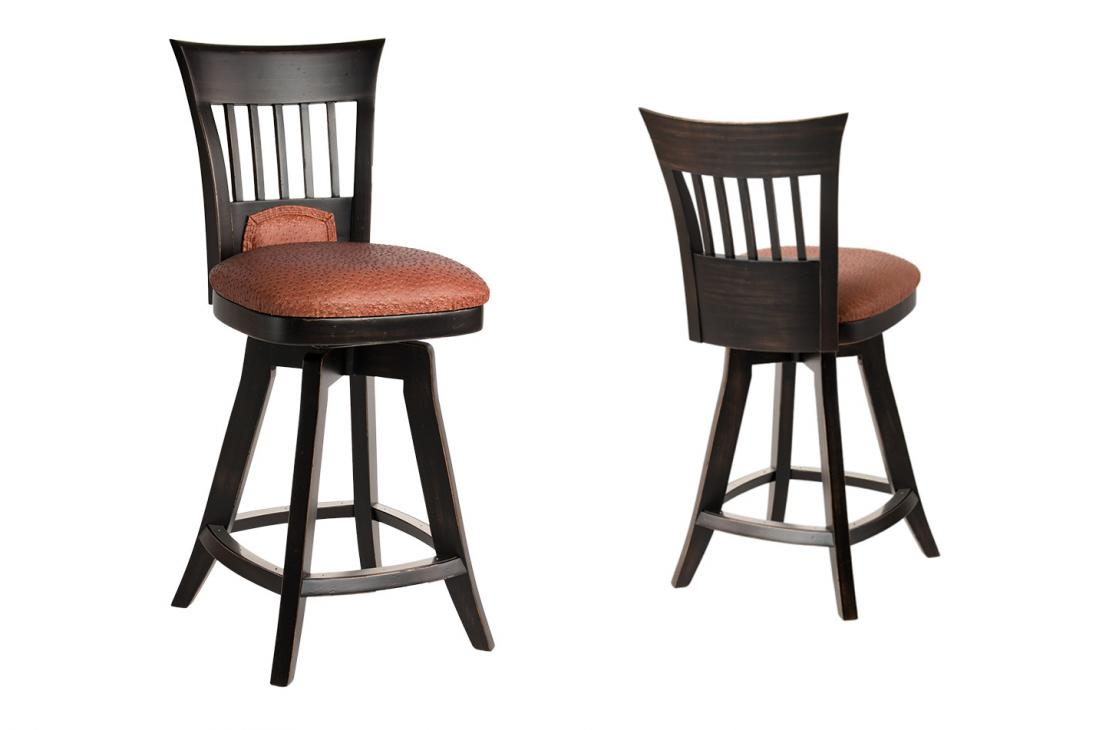 Darafeev 660 Barstool Wood Alkar Billiards Bar Stools