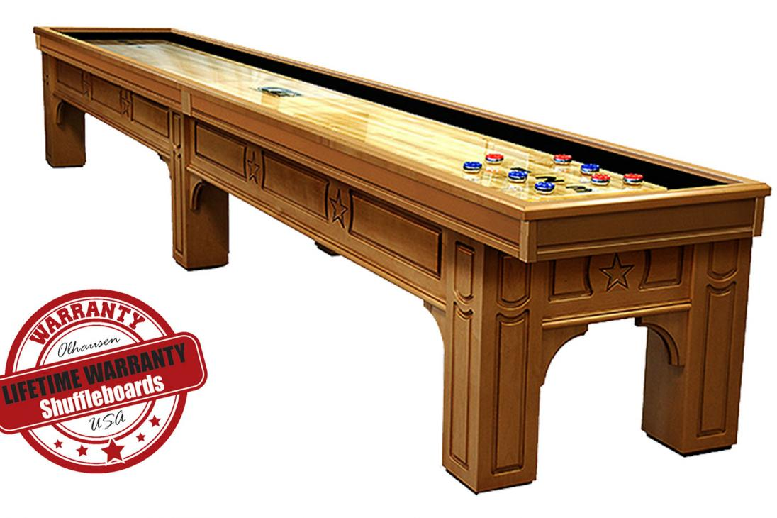 olhausen lonestar call for price - Shuffle Board