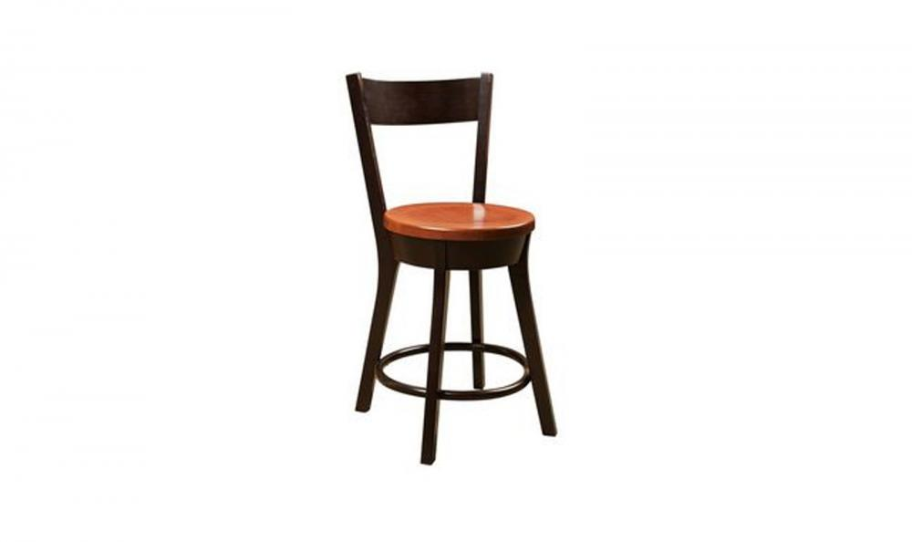Phenomenal Fusion Designs Cape Cod Swivel With Back Wood Bar Chair Ibusinesslaw Wood Chair Design Ideas Ibusinesslaworg