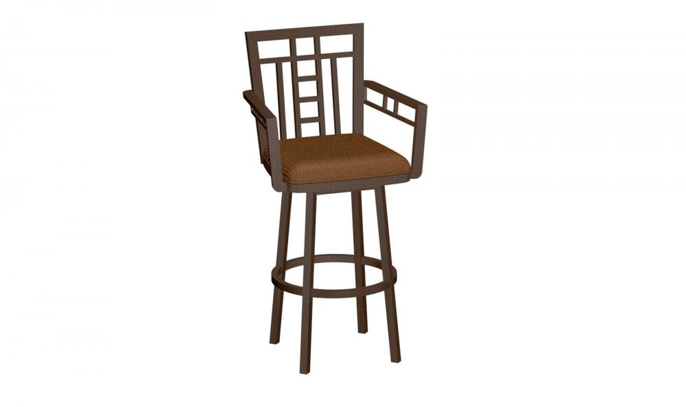 Patriot Barstool Soho With Arms Alkar Billiards Bar