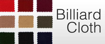 Billiard Cloth Custom Styles