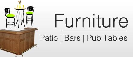 Omaha's Best Selection of Game Room Furniture, Pub Tables, Bar Stools at the Best Prices