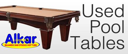 Quality Pre-Owned Pool Tables